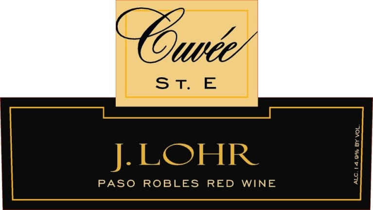 J. Lohr Vineyards & Wines Cuvee St. E 2014 Front Label