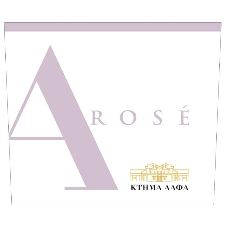Alpha Estate Rose 2018  Front Label