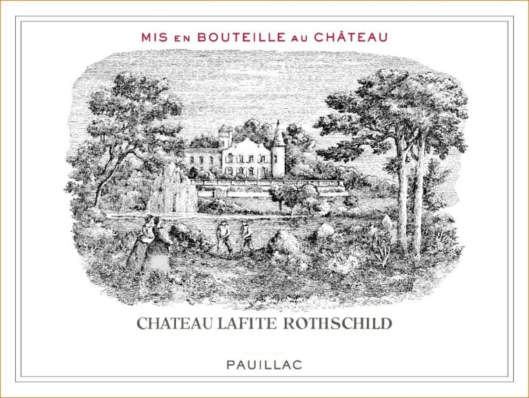 Chateau Lafite Rothschild  2018  Front Label