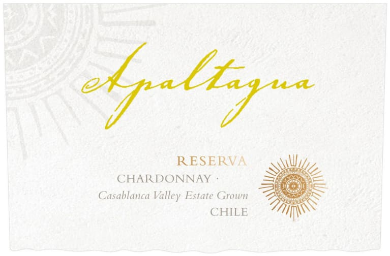 Apaltagua Reserva Chardonnay 2019  Front Label