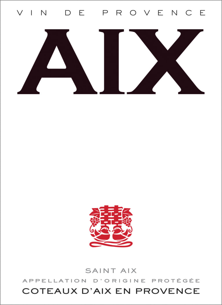 Aix Rose 2019  Front Label