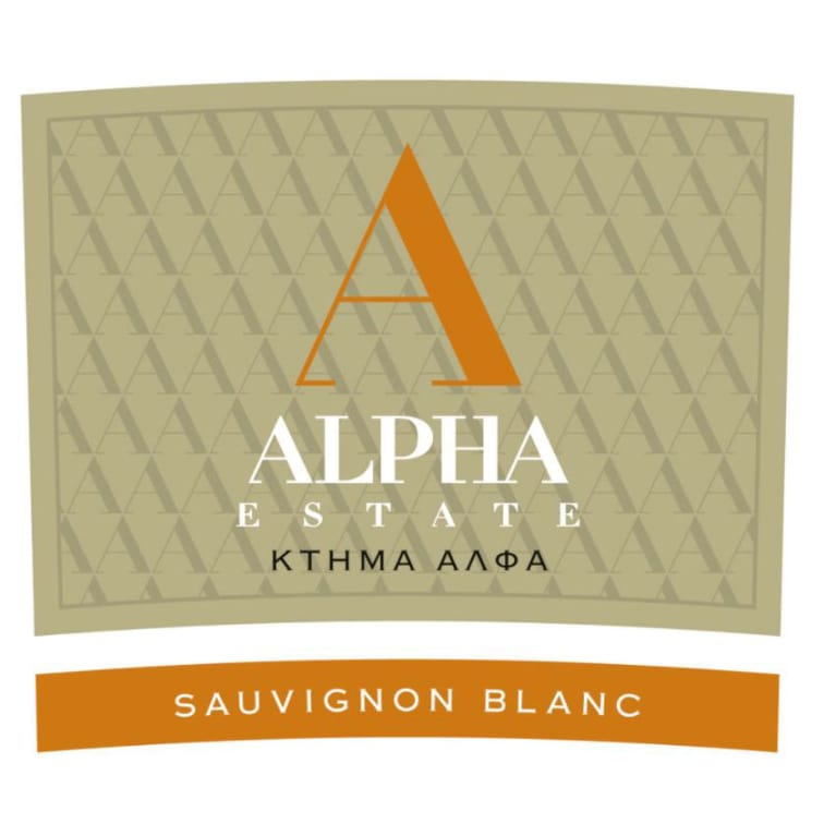 Alpha Estate Sauvignon Blanc 2018  Front Label