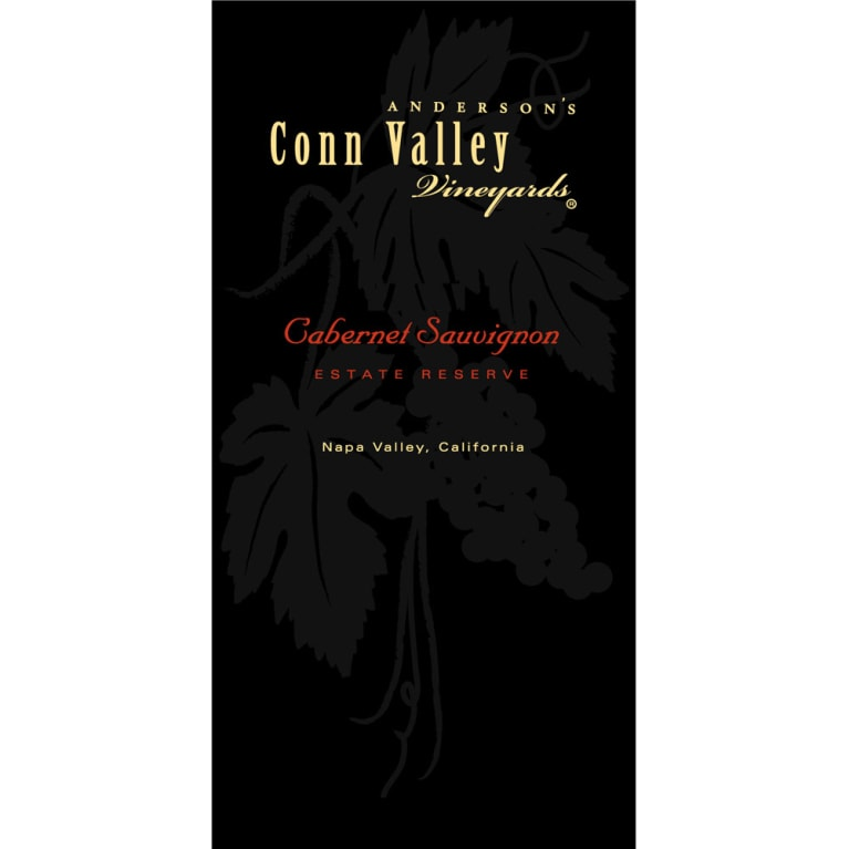 Anderson's Conn Valley Vineyards Estate Reserve Cabernet 1999  Front Label