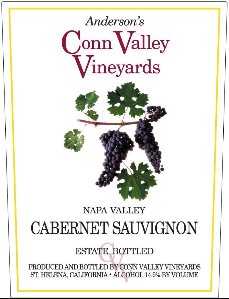 Anderson's Conn Valley Vineyards Napa Valley Cabernet Sauvignon 2015 Front Label