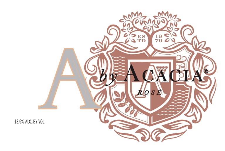 A by Acacia Rose of Pinot Noir  2018  Front Label