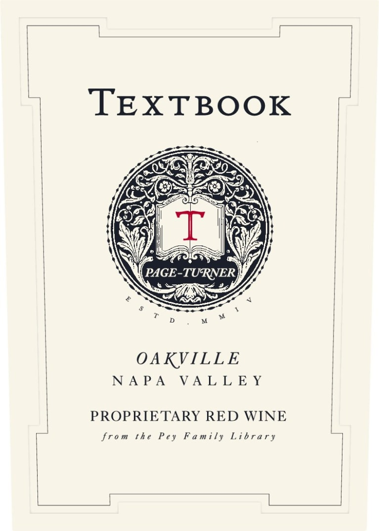 Textbook Page Turner Proprietary Red 2016  Front Label