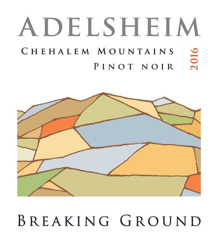 Adelsheim Breaking Ground Pinot Noir 2016  Front Label