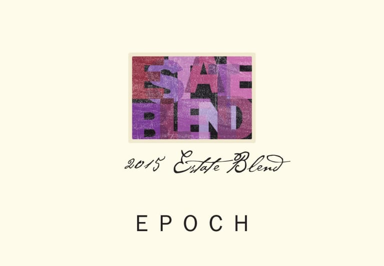 Epoch Estate Red Blend 2015  Front Label