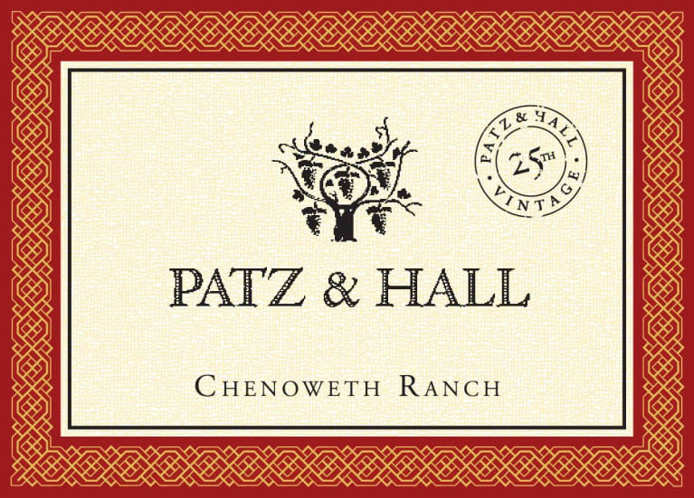 Patz & Hall Chenoweth Ranch Pinot Noir 2015 Front Label