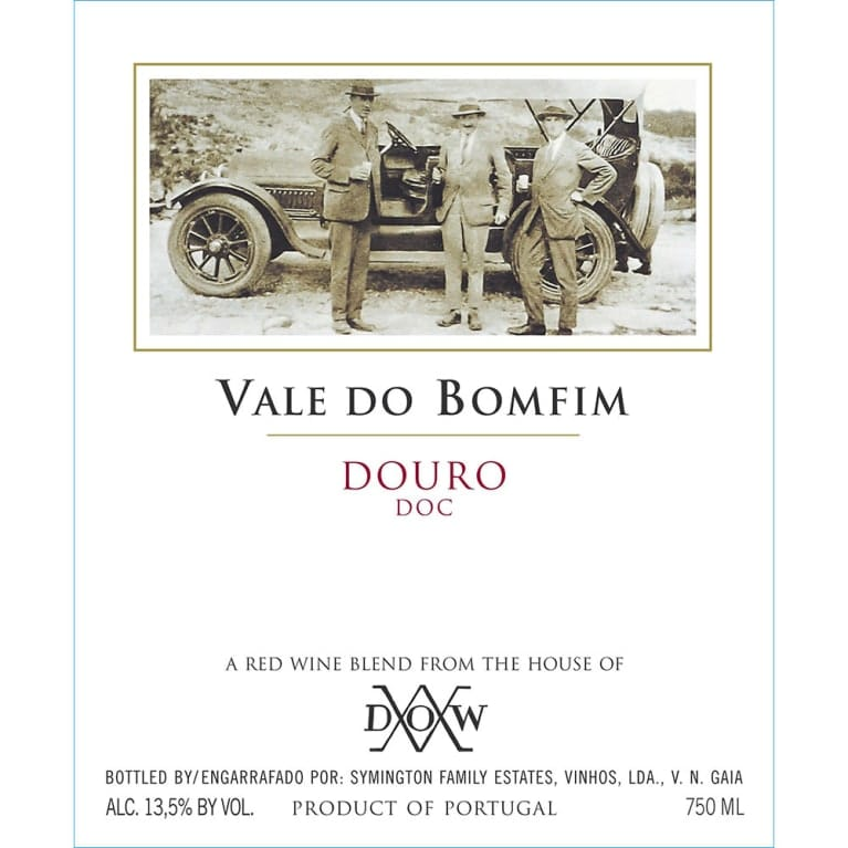 Dow's Vale do Bomfim 2016 Front Label