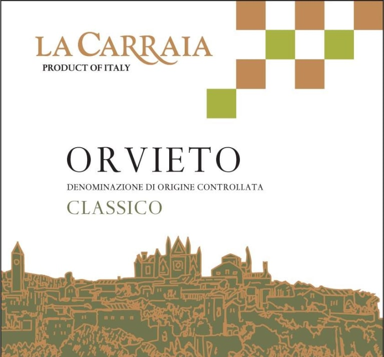 La Carraia Orvieto 2018  Front Label