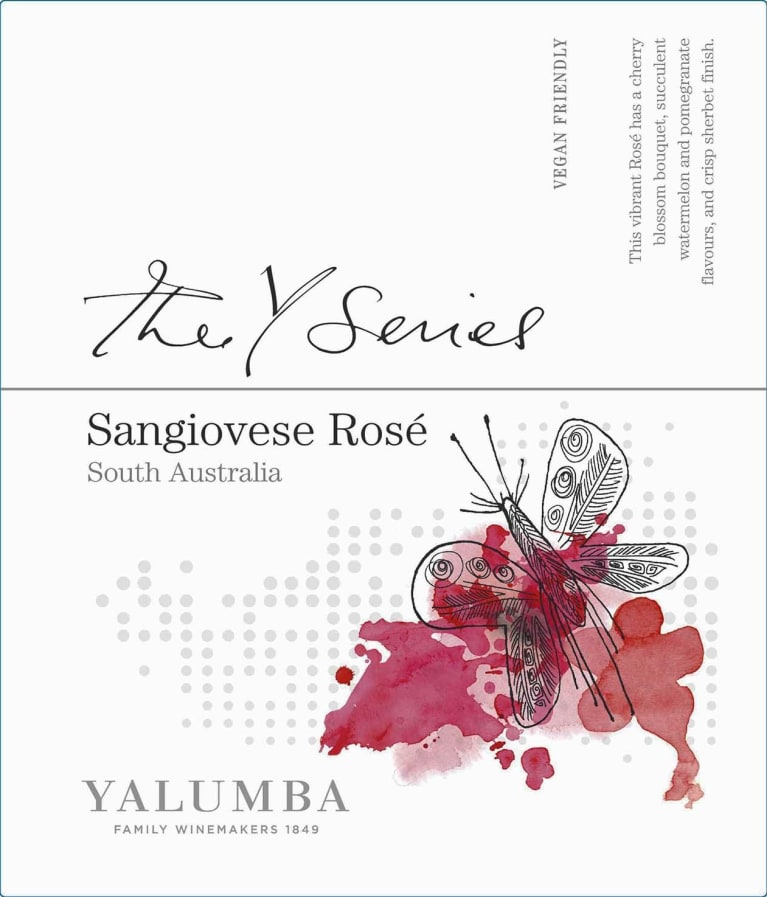 Yalumba Y Series Sangiovese Rose 2019  Front Label