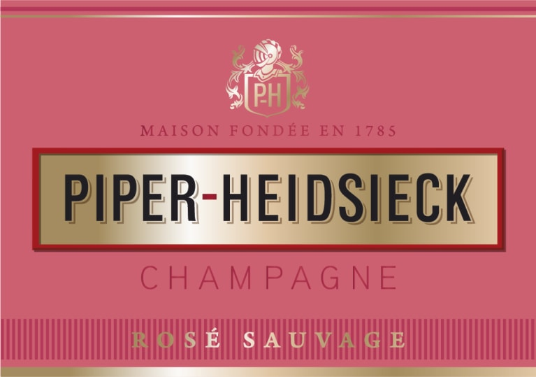 Piper-Heidsieck Rose Sauvage  Front Label