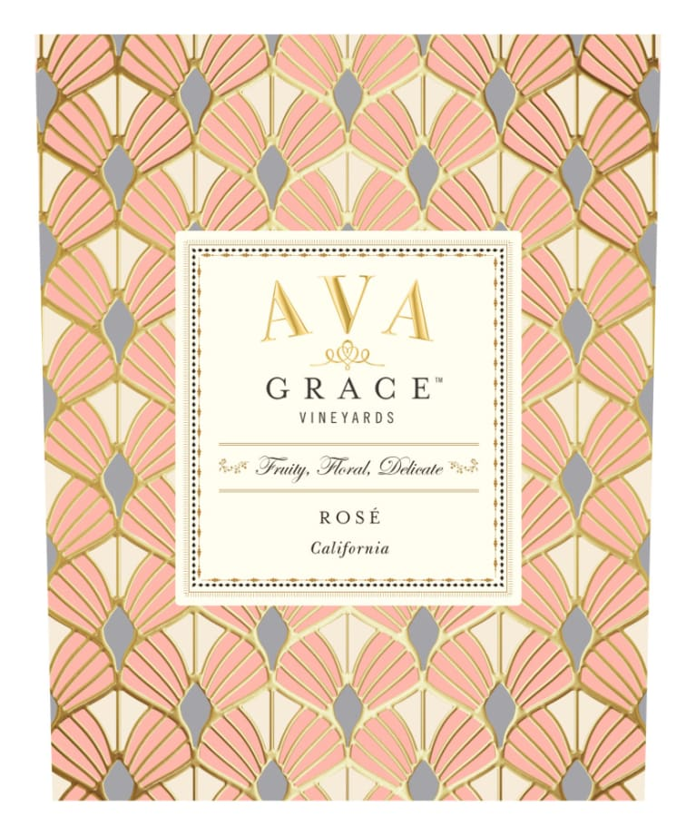 AVA Grace Rose 2018  Front Label