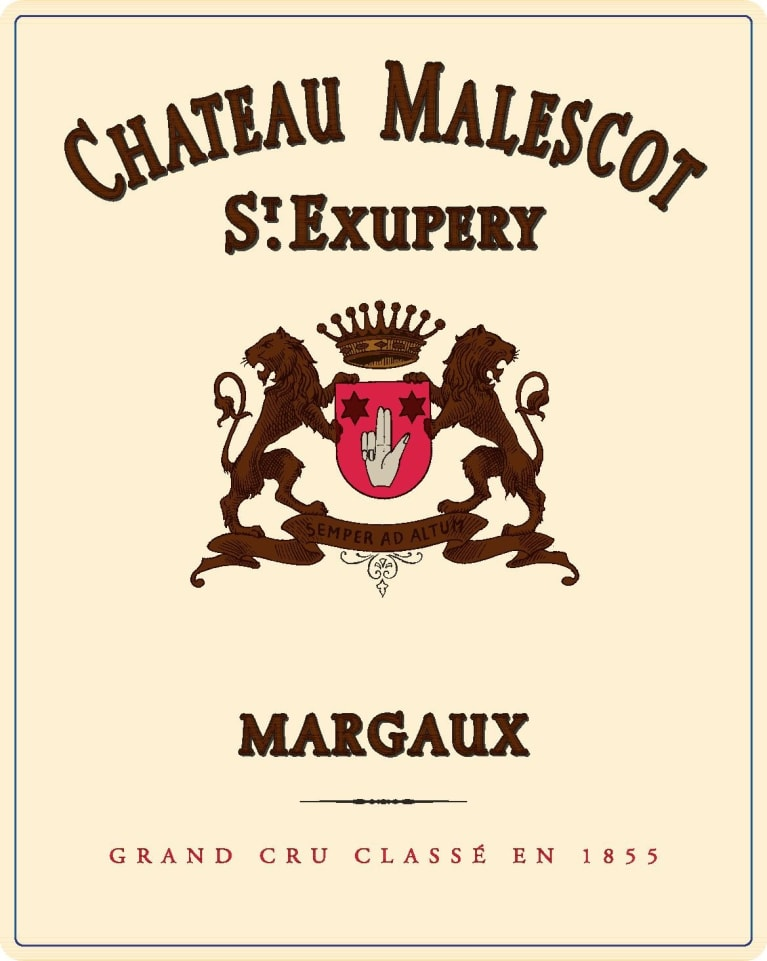 Chateau Malescot St. Exupery (Futures Pre-Sale) 2018  Front Label