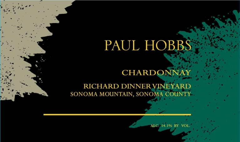 Paul Hobbs Richard Dinner Vineyard Chardonnay 2018  Front Label