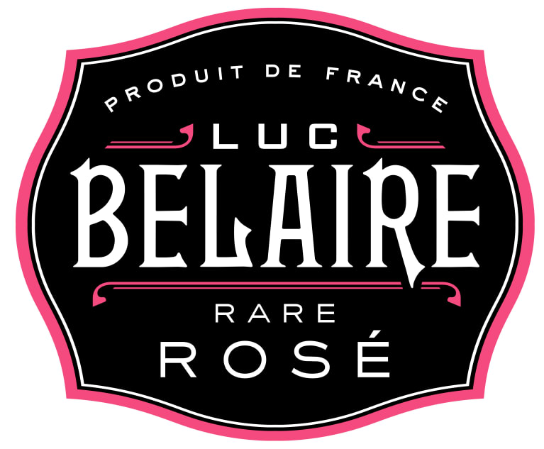 Luc Belaire Rare Rose  Front Label