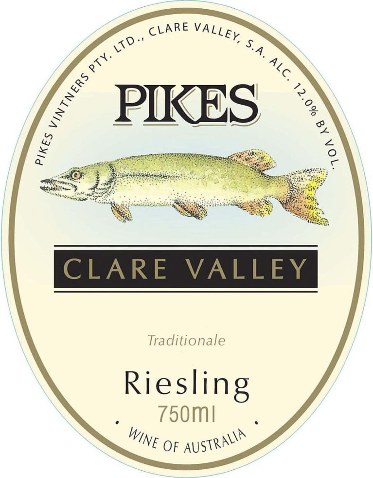 Pikes Riesling Traditionale 2016 Front Label