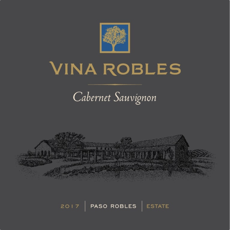 Vina Robles Estate Cabernet Sauvignon 2017  Front Label