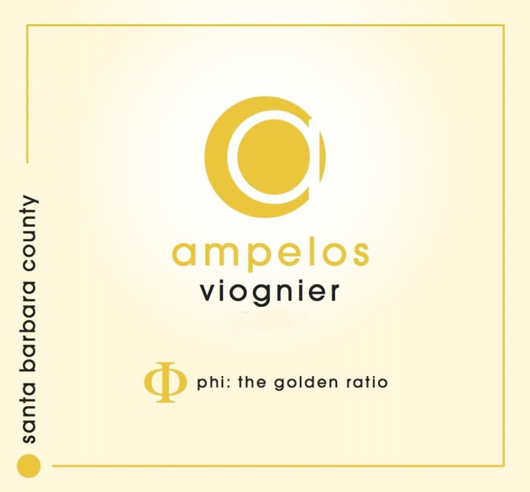 Ampelos Cellars Viognier 2018  Front Label