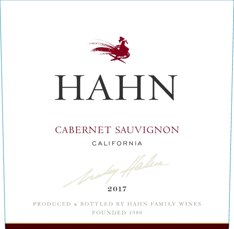 Hahn Winery Cabernet Sauvignon 2017  Front Label