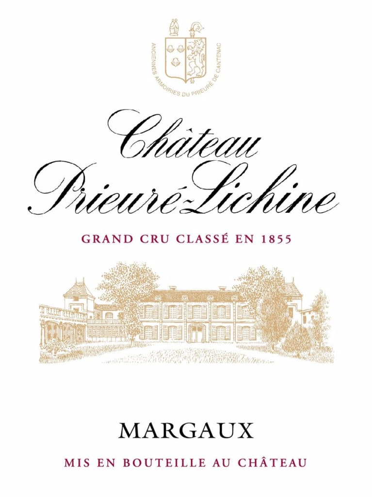Chateau Prieure-Lichine  2018  Front Label