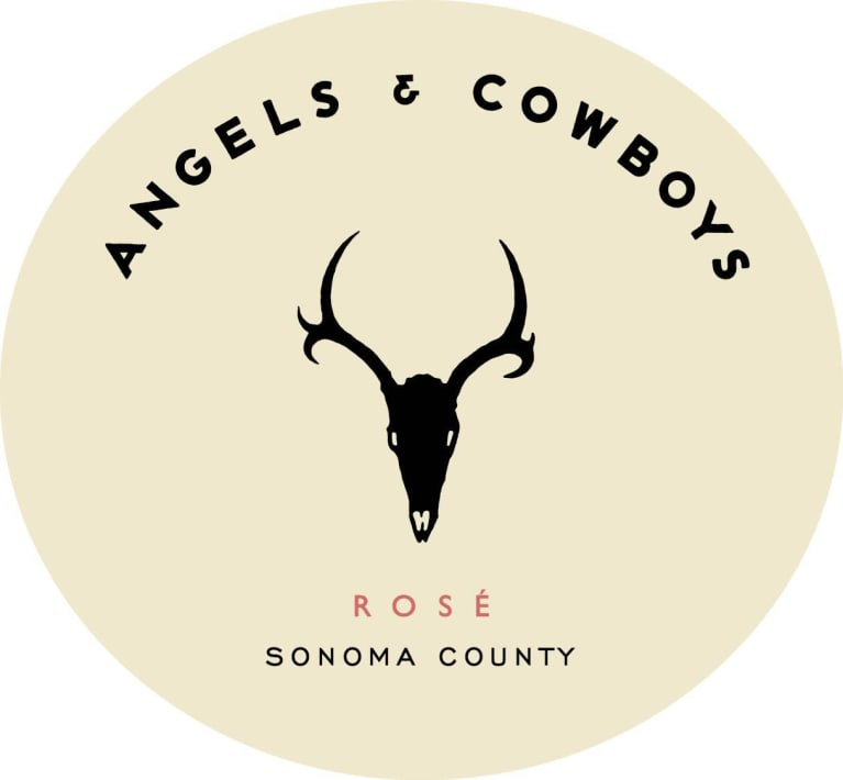 Angels & Cowboys Rose (375ml half-bottle) 2017 Front Label