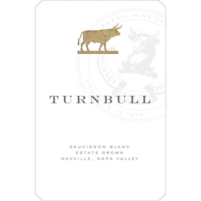 Turnbull Sauvignon Blanc 2018  Front Label
