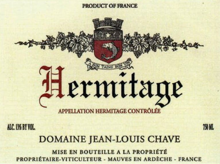 Jean-Louis Chave Hermitage (1.5 Liter Magnum) 2016 Front Label