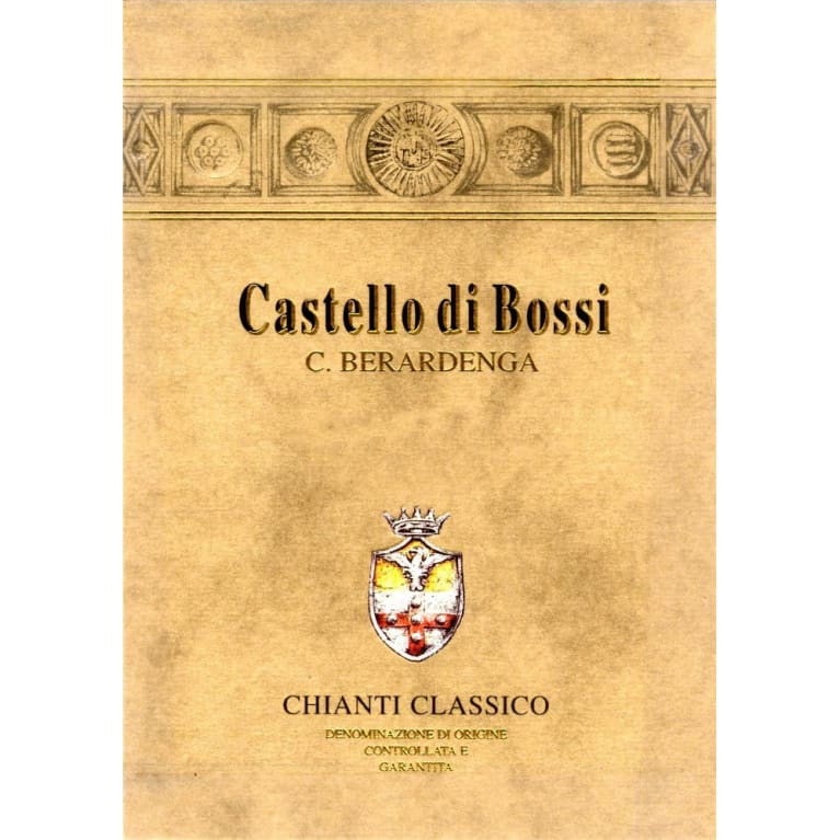 Castello di Bossi Chianti Classico (375ML half-bottle) 2016  Front Label