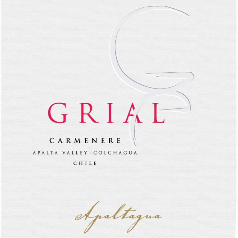 Apaltagua Grial Carmenere 2017  Front Label