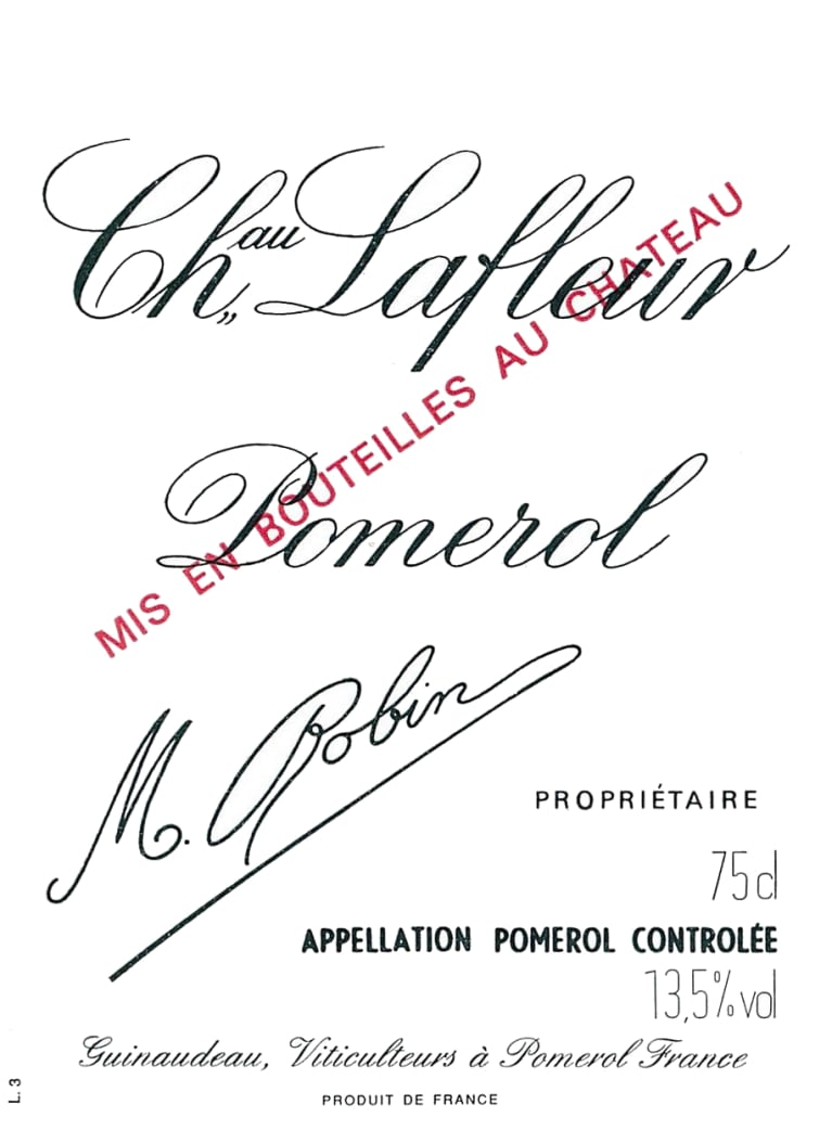 Chateau Lafleur  2011  Front Label