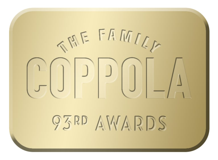 Francis Ford Coppola Chardonnay 93rd Awards Edition 2019  Front Label