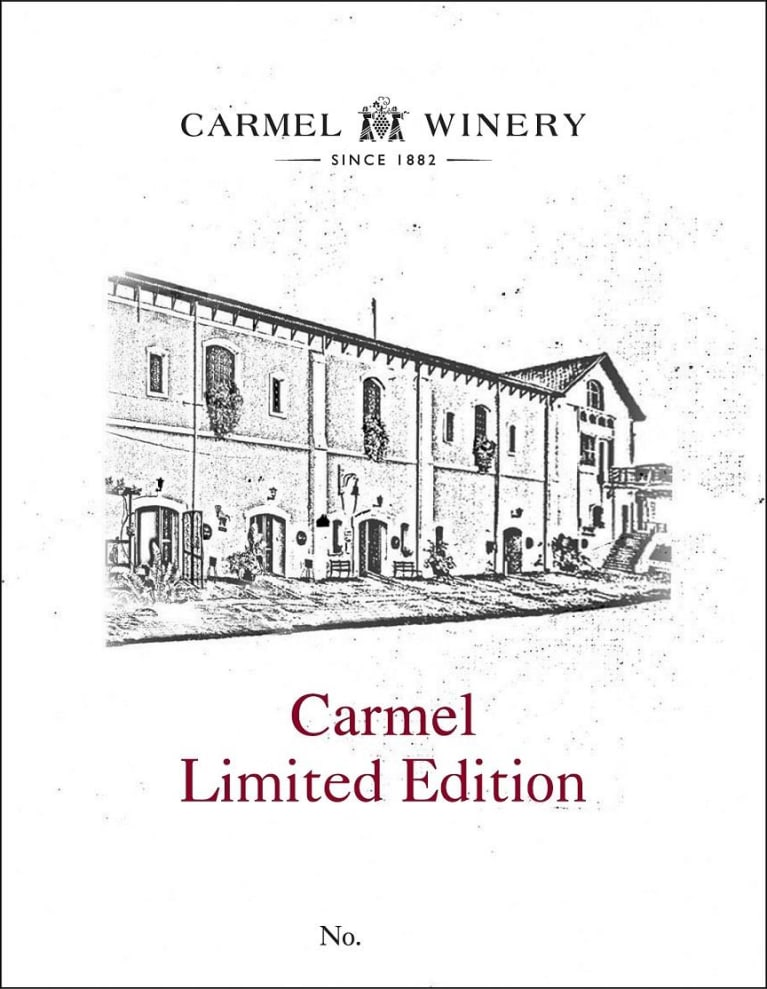 Carmel Limited Edition (OU Kosher) 2016  Front Label