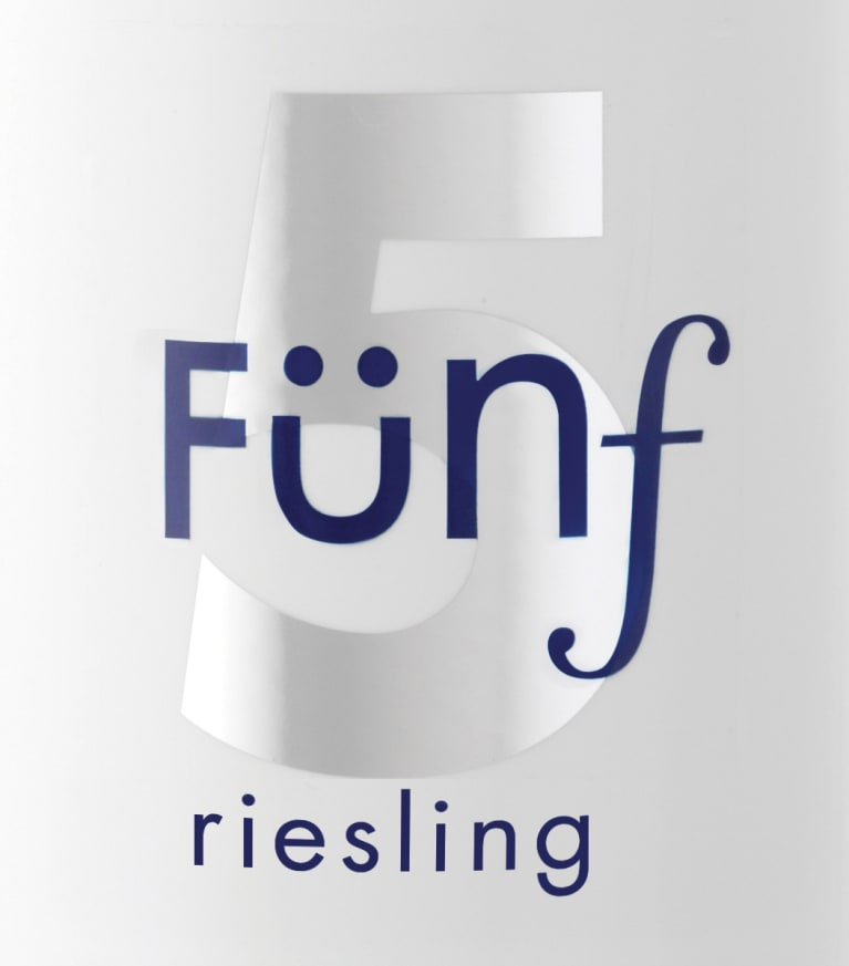 Funf Riesling  Front Label