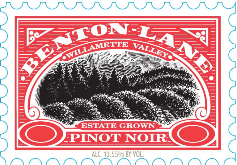 Benton Lane Pinot Noir (375ML half-bottle) 2015 Front Label