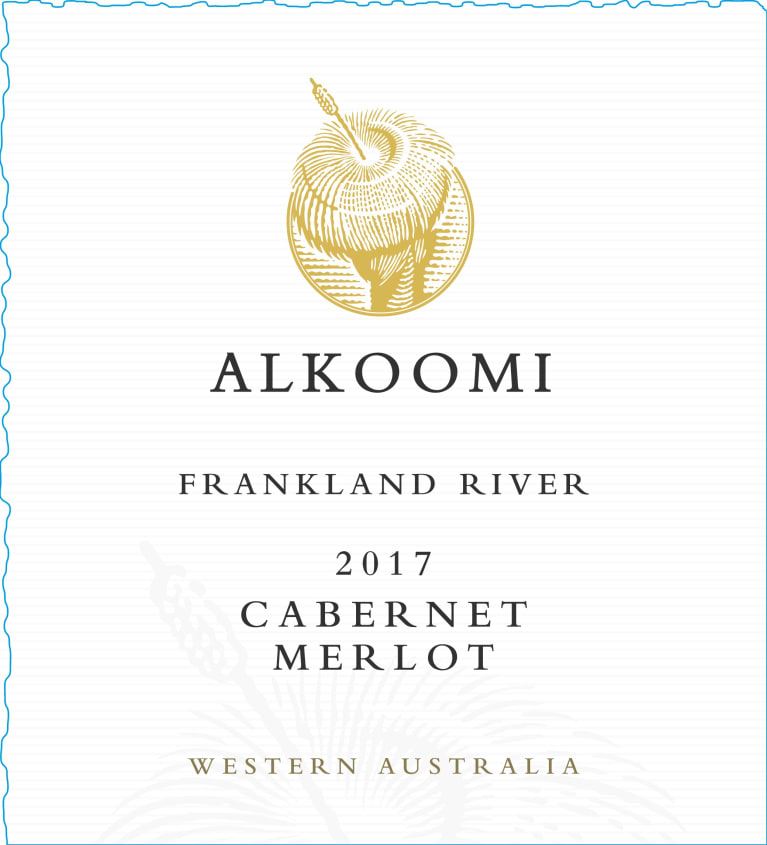 Alkoomi White Label Cabernet-Merlot 2017  Front Label