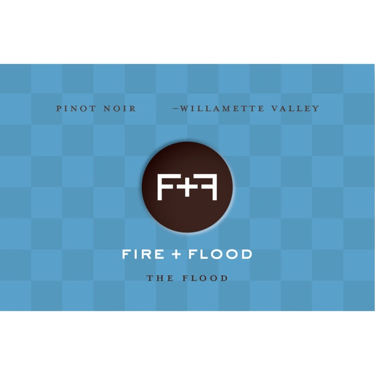 Chapter 24 Fire and Flood The Flood Pinot Noir 2014 Front Label
