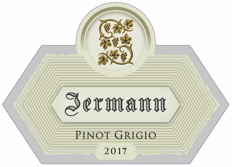 Jermann Pinot Grigio 2017 Front Label