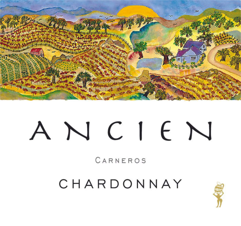 Ancien Wines Chardonnay 2017  Front Label