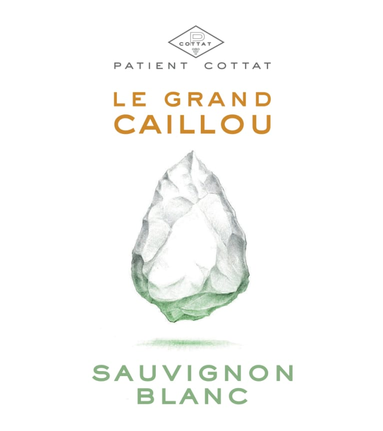 Patient Cottat Le Grand Caillou Sauvignon Blanc 2018  Front Label