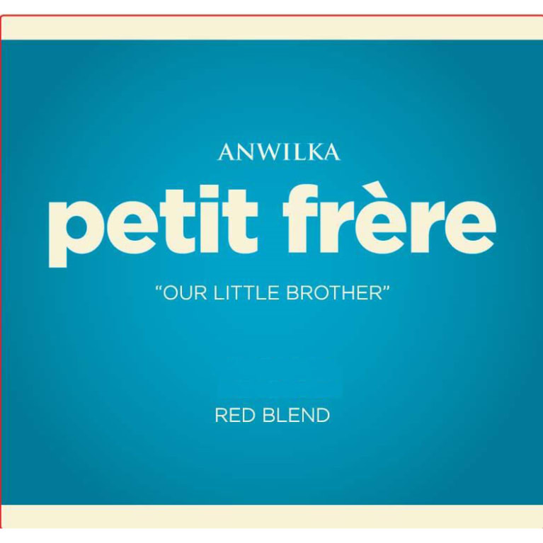 Anwilka Petit Frere Red Blend  2017  Front Label