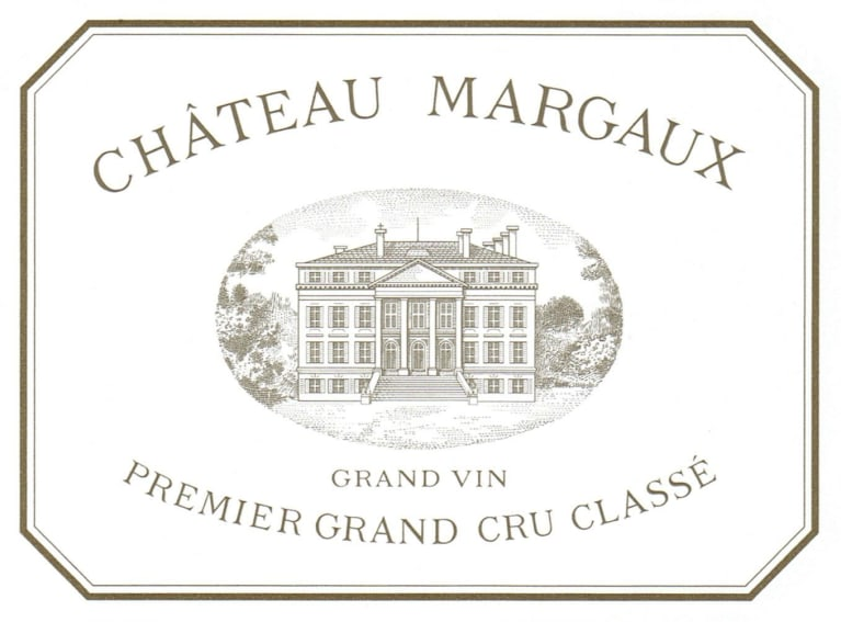Chateau Margaux 6-Pack OWC (Futures Pre-Sale) 2018  Front Label