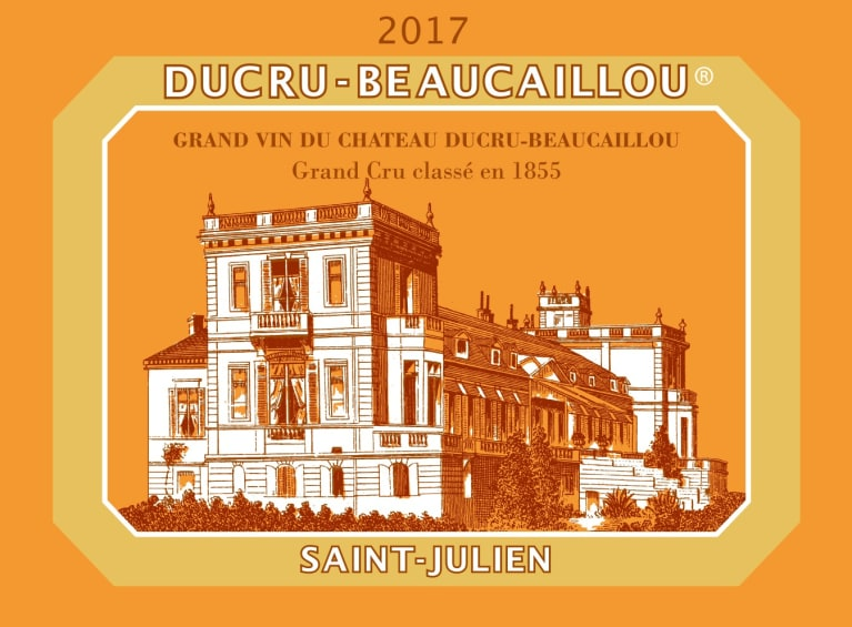 Chateau Ducru-Beaucaillou (1.5 Liter Futures Pre-Sale) 2017  Front Label