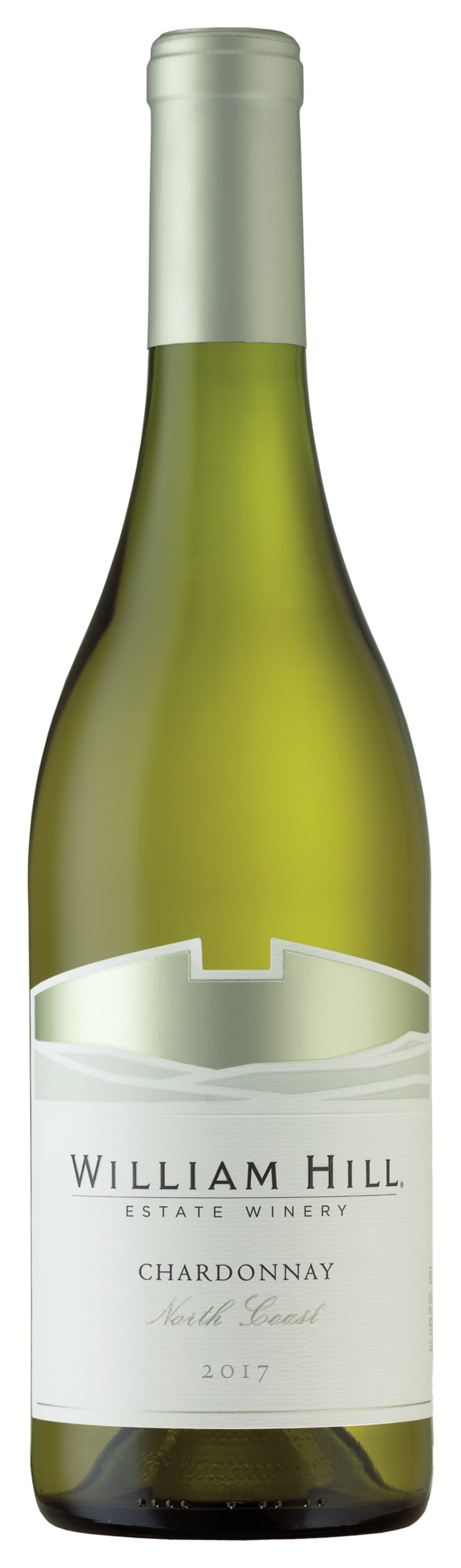 William Hill North Coast Chardonnay 2017  Front Bottle Shot