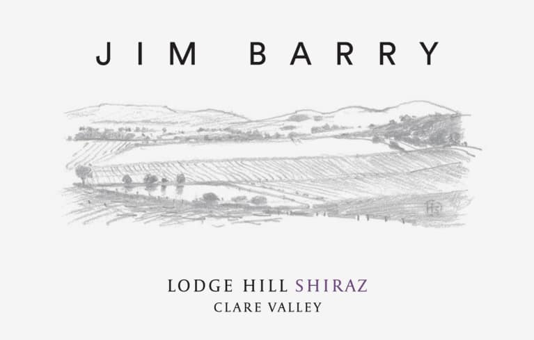 Jim Barry Lodge Hill Shiraz 2015  Front Label