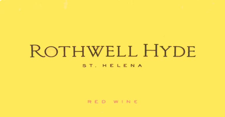 Abreu Vineyards Rothwell Hyde Red 2014  Front Label