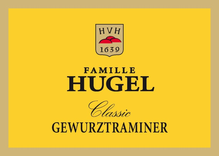 Hugel Gewurztraminer 2017  Front Label