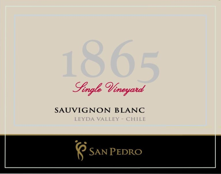 1865 Single Vineyard Sauvignon Blanc 2017 Front Label