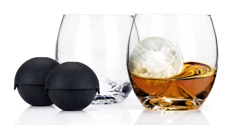 wine.com Glacier Rocks Ice Ball Mold and Tumbler (Set of 2)  Gift Product Image